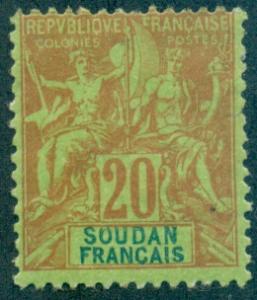 French Sudan #11  Mint  Scott $32.50