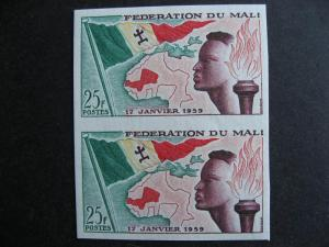 Mali Sc 1 MNH imperf pair nice pair, check it out!