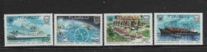 TUVALU #196-199 1983 COMMONWEALTH DAY MINT VF NH O.G