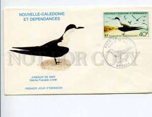 292291 New Caledonia 1978 First Day COVER Bird Sterna Fuscata Linne Sooty tern