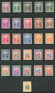 Sarawak SG106/125 1934 Set of 26 Fresh M/Mint