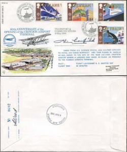 RFDC63 Transport and Communications Full set of 4 Signed by Peter Masefield (B)