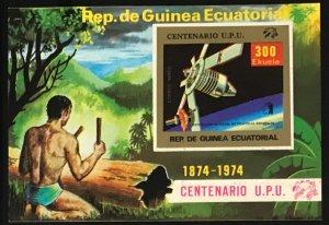 Equatorial Guinea #MiBl139 MNH S/S CV€9.00 UPU