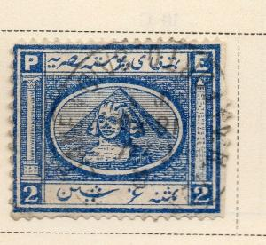 Egypt 1867 Early Issue Fine Used 2p. 324039