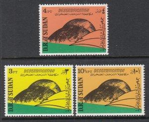 Sudan 311-313 MNH VF