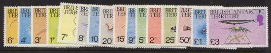 British Antarctic Territory - 1984 Marine Life Set mint