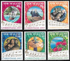 New Zealand # 1452 - 57 Mint Never Hinged