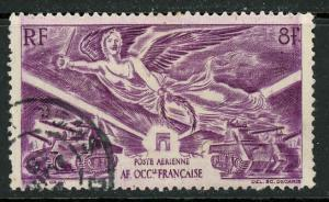 French West Africa C7 Used