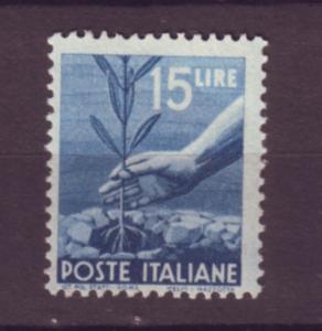 J21537 Jlstamps 1945-7 italy part of set a key mnh #473a tree