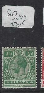 MALTA (PP1303B)  KGV  1/2  SG 71  MOG