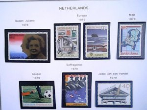 1979-80  Netherlands  MNH  full page auction