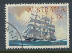 Australia SG 913 Used parcel creases show on reverse