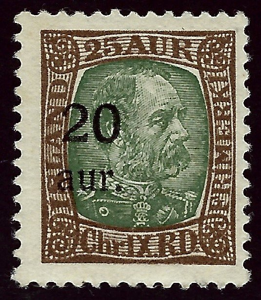 Iceland SC#132 Mint F-VF..Fill a Key Spot!!