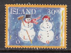 Iceland SC# 811  1995 Christmas used