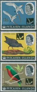 Pitcairn Islands 1967 SG76-78 Birds MLH