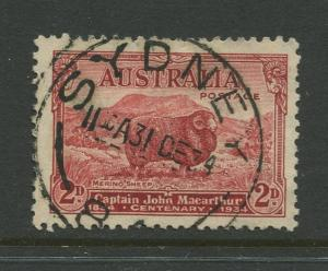 7STAMP STATION PERTH Australia #147a Marino Sheep Issue Die II FU CV$6.00.