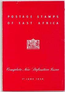 66041 - EAST AFRICA Kenya Uganda Tanganika - PRESENTATION FOLDER : SG # 167/180