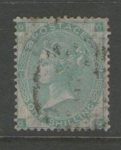 GB 1862 Queen Victoria SG 90 FU