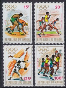 1972 Senegal 494-497 1972 Olympic Games in Munchen 7,50 €