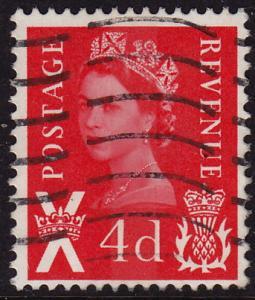 GB Scotland - 1969 - Scott #10 - used