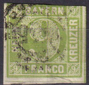 Bavaria #6 Used CV $16.00 (Z6816)