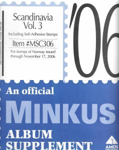 Minkus Scandinavia Volume 3 MSC306 Supplement 2006
