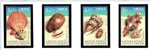 Hong Kong 803-06 MNH 1997 Sea Shells