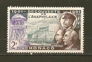Monaco 303 Ship Hirondelle II MNH