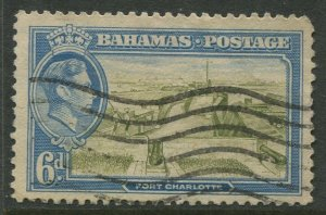 STAMP STATION PERTH Bahamas #107 KGVI Definitive Issue Used CV$1.25