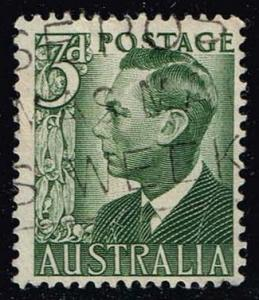Australia #233 King George VI; Used (0.25)