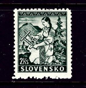 Slovakia 40 MNH 1939 issue
