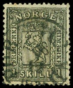 NORWAY-a-Pre 1900 (to 58) 11  Used (ID # 65118)