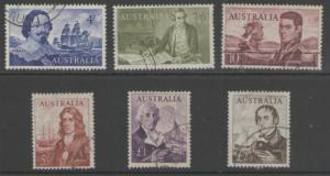 AUSTRALIA SG355/60 1963-5 NAVIGATORS FINE USED