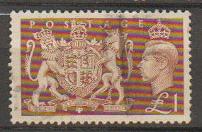 GB George VI  SG 512 used parcel cancel