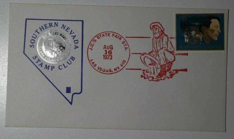 Southern Nevada Stamp Club JC's State Fair Sta Las Vegas NV 1973 Philatelic Expo