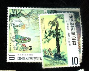 South Korea #781-6 MINT VF NH Cat$39