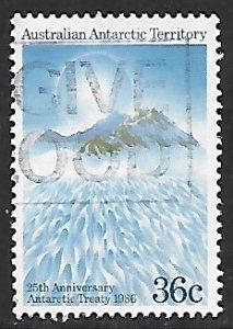 Australian Antarctic Territory # L75 - Antarctic Treaty - Used....(KlBl9)