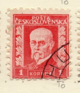 Czechoslovakia 1926-27 Issue Fine Used 1k. NW-148587