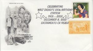 2001 Walt Disney CtC 1930s (3185h) Artcraft Pictorial