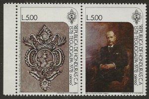Honduras 1978 #C660, C661 5L Stamps Se-tenant #C661a VF-NH CV 14.00