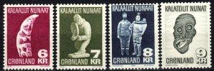 Greenland #102-5  MNH CV $11.00 (P655)