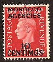 Great Britain Offices Morocco  #  84  Mint