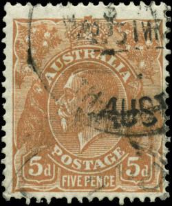 Australia Scott #75 Used