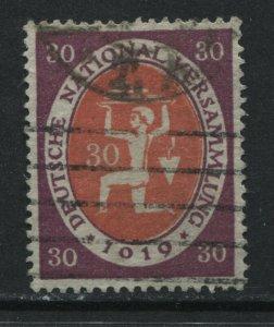 Germany 1920 30 pf 1019 ERROR used