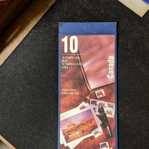 Canada 1471b booklet, XF, CV $10