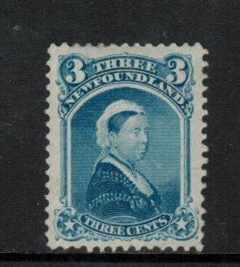 Newfoundland #34 Extra Fine Mint Full Original Gum Hinged