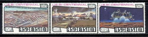 Ascension 215-217 mint hinged SCV $ 1.50 (RS)