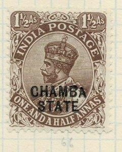 india chamba states- sg 56 -  lmm
