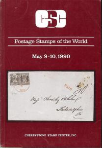Postage Stamps of the World, Cherrystone May 90