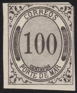 MEXICO  An old forgery of a classic stamp..................................69211
